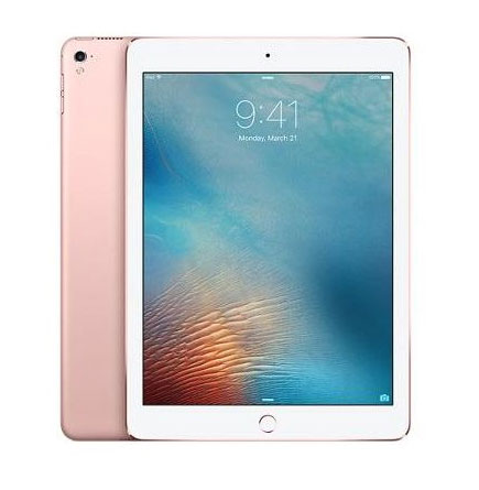 Apple iPad Pro without Facetime Tablet - 9.7 Inch, 32GB, WiFi, Rose Gold