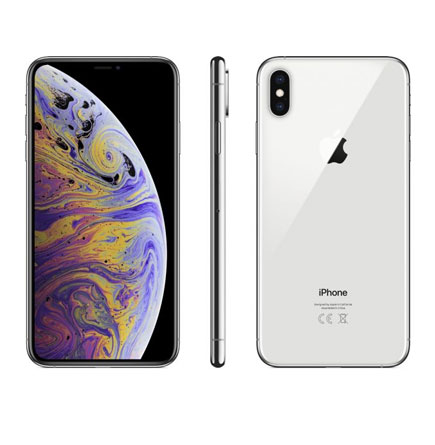Apple iPhone Xs Max Without FaceTime - 256GB, 4G LTE, Silver