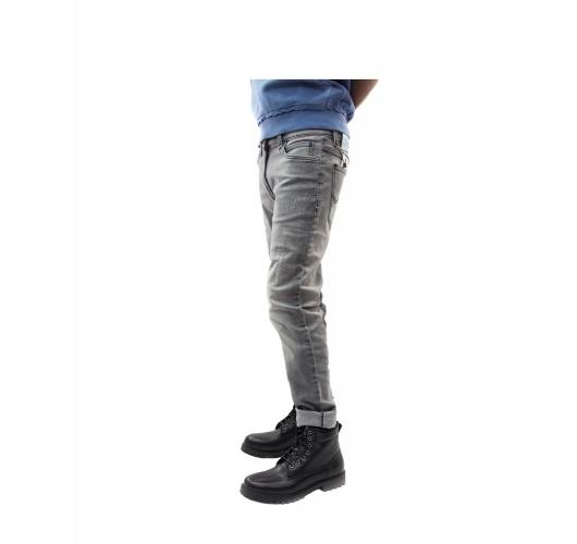 Lee Men's Regular Fit Mid-rise CLean Look Stretchable Jeans