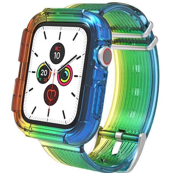 Ahastyle Rainbow TPU Watch Band 38mm/40mm