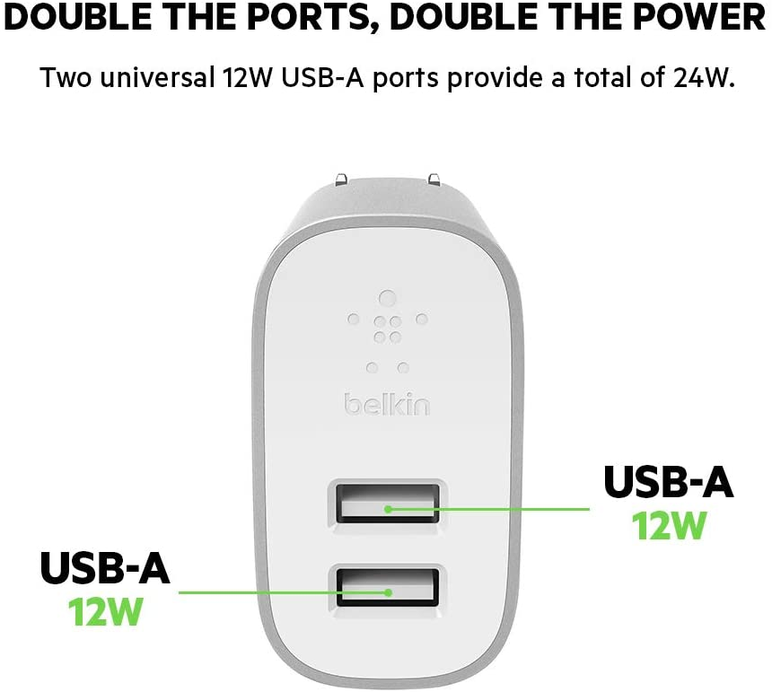 Belkin Boost Charge 2-Port Home Charger