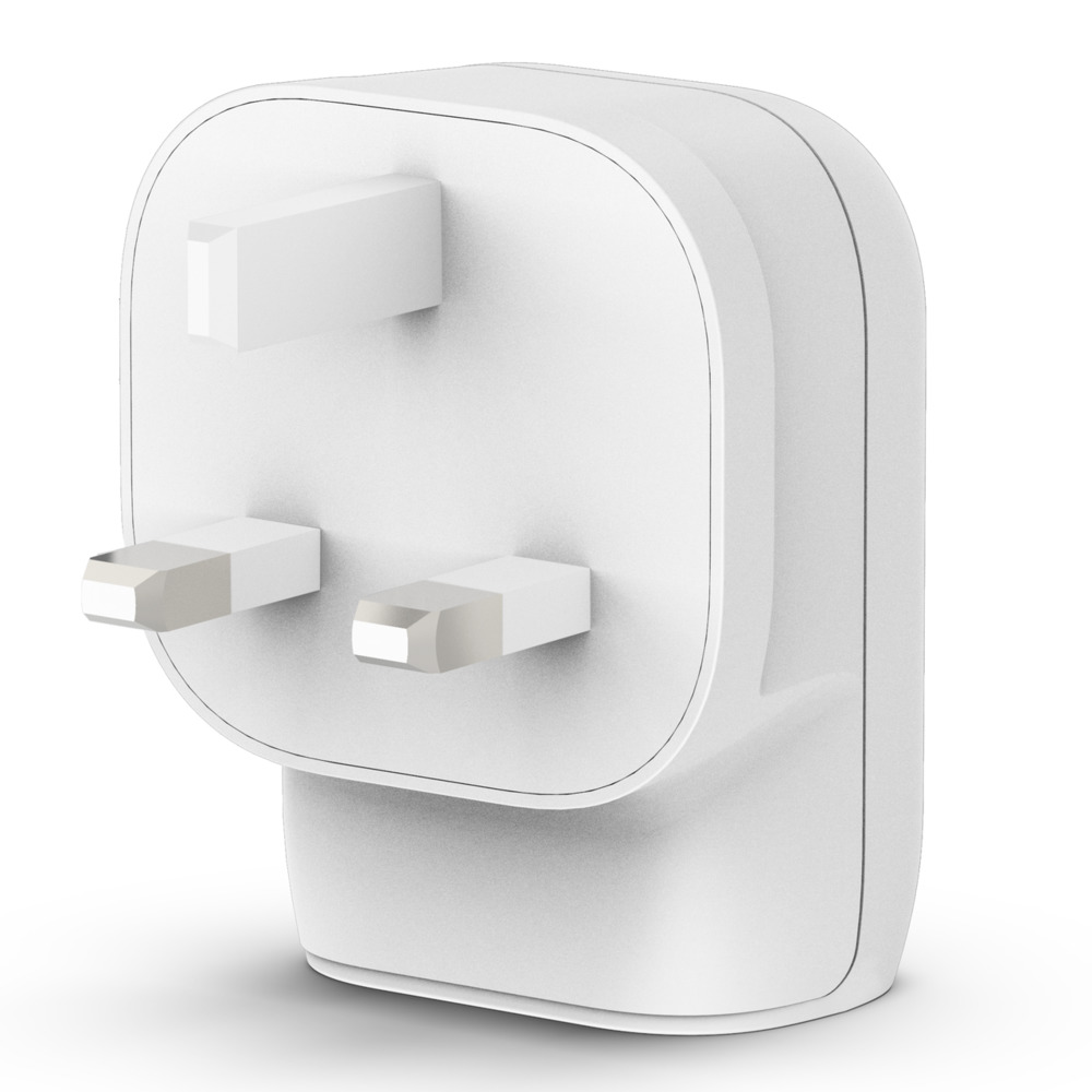 Belkin PD Dual Standalone Home Charger 30W ( 18W USB-C / 12W USB-A ) UK